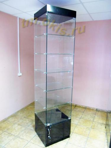 стеклянное оборудование изготоволенное с применением сверления / Производство стеклянных витрин Амур